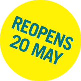 Re-Opens 20 May roundel