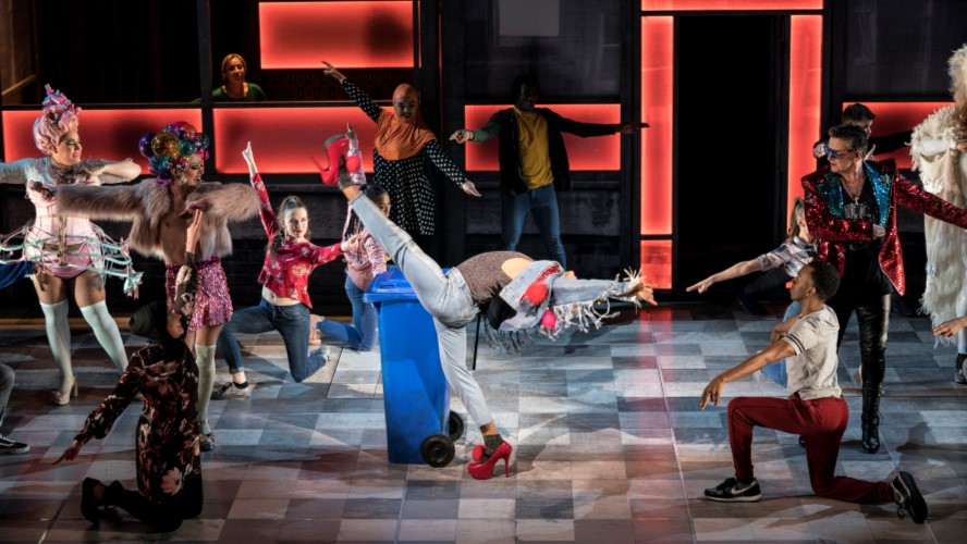 Everybody's Talking About Jamie – Layton Williams as Jamie & the company